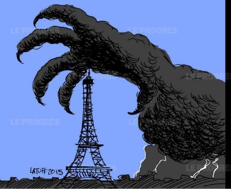 Paris, 13/11/2015, dessins hommages
