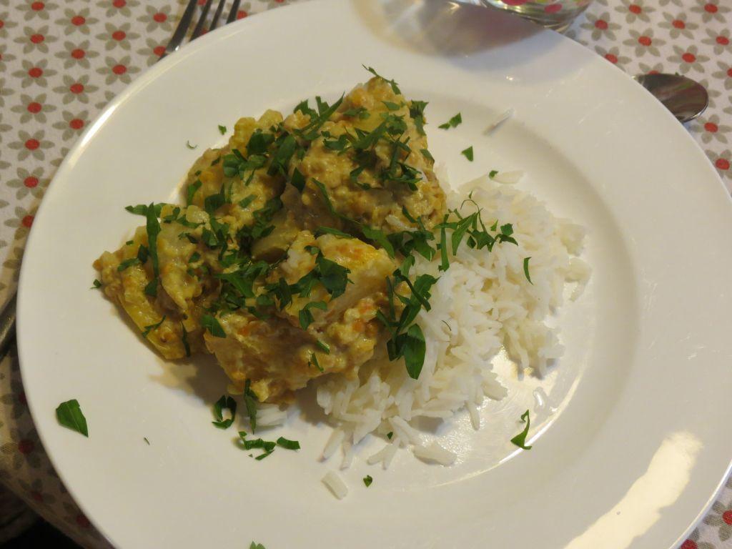 Curry de navets aux lentilles corail
