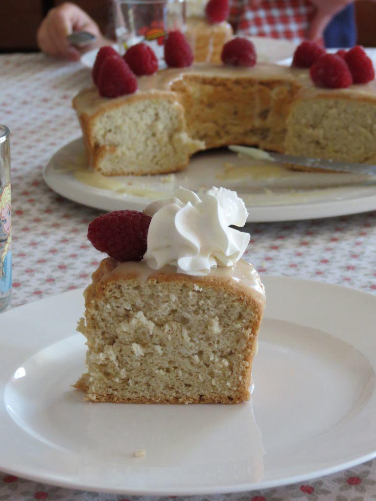 Angel food cake...