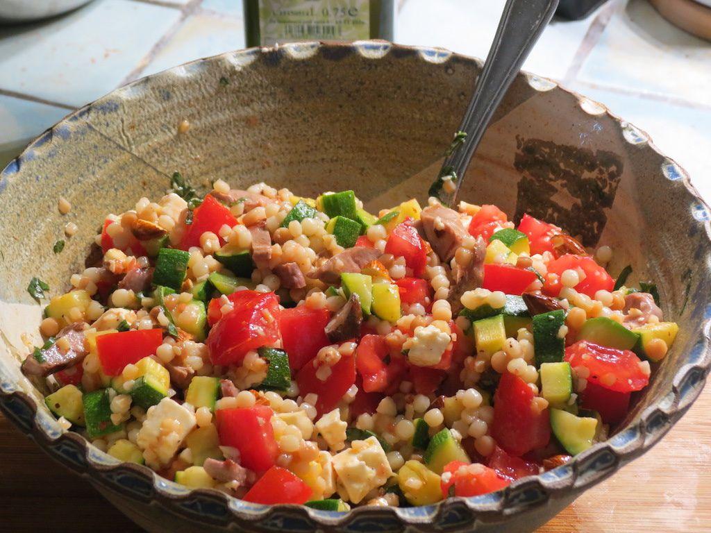 Salade de fregola sarda
