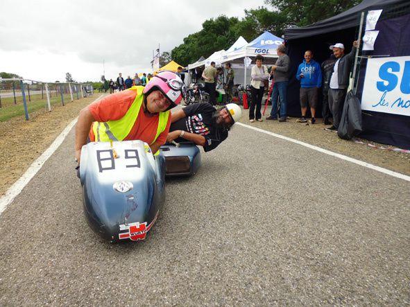 Essais de roulage sur le circut Win'Kart de Carcassonne.