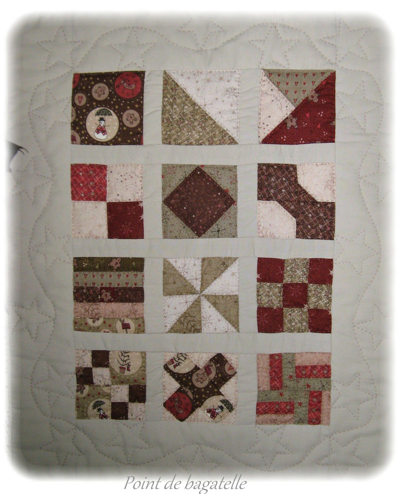 12 days of christmas temecula quilt