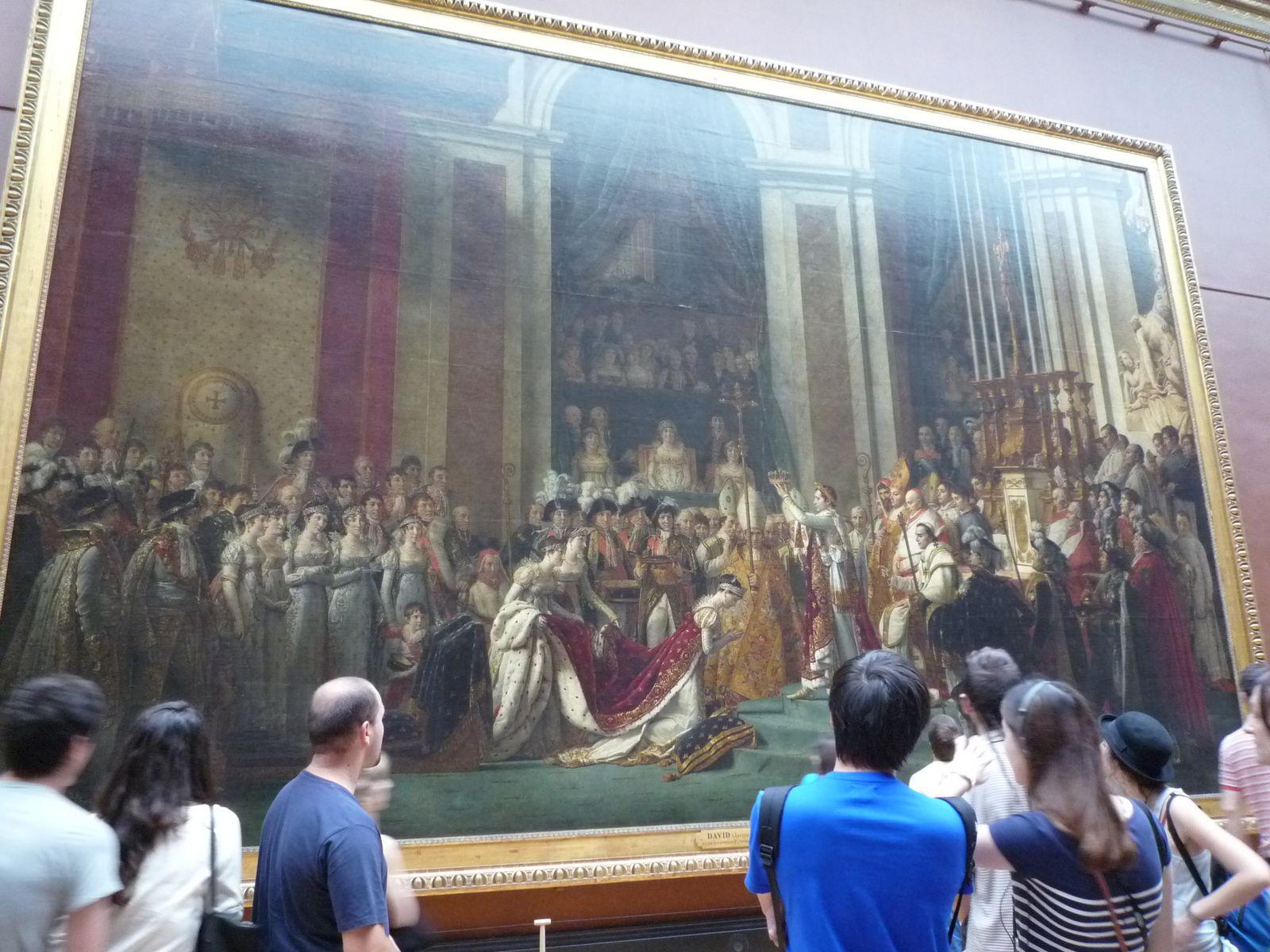 Le sacre de Napoleon