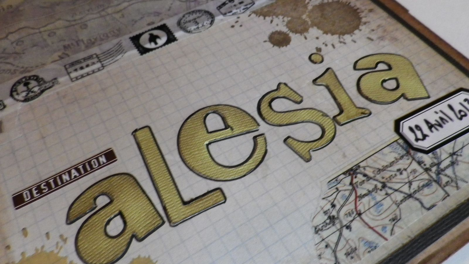 Mini album Alésia