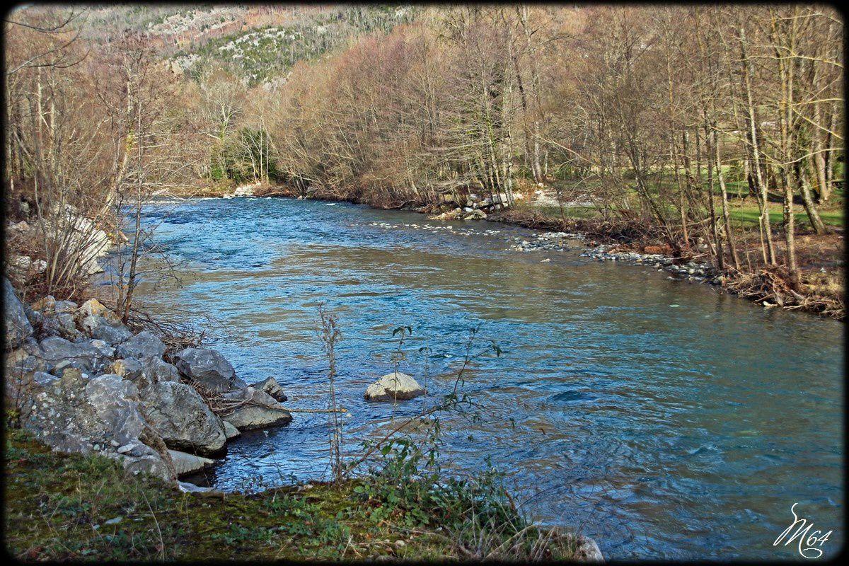 Le lac de Castet ( 64 ) ...