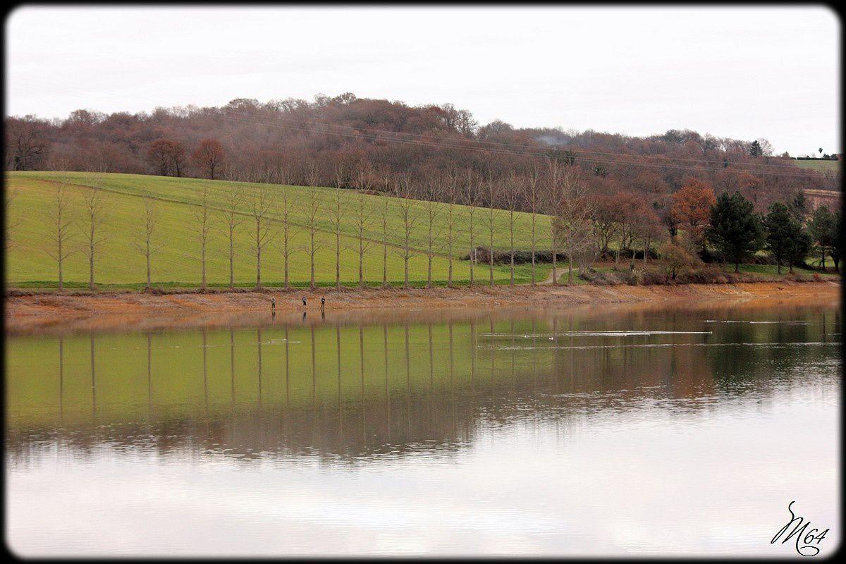Lac de Serres-Castet (64) près de Pau