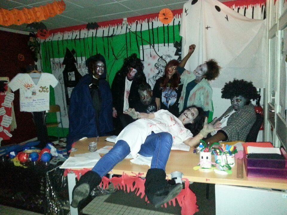 Halloween au centre de loisirs et Club Ados