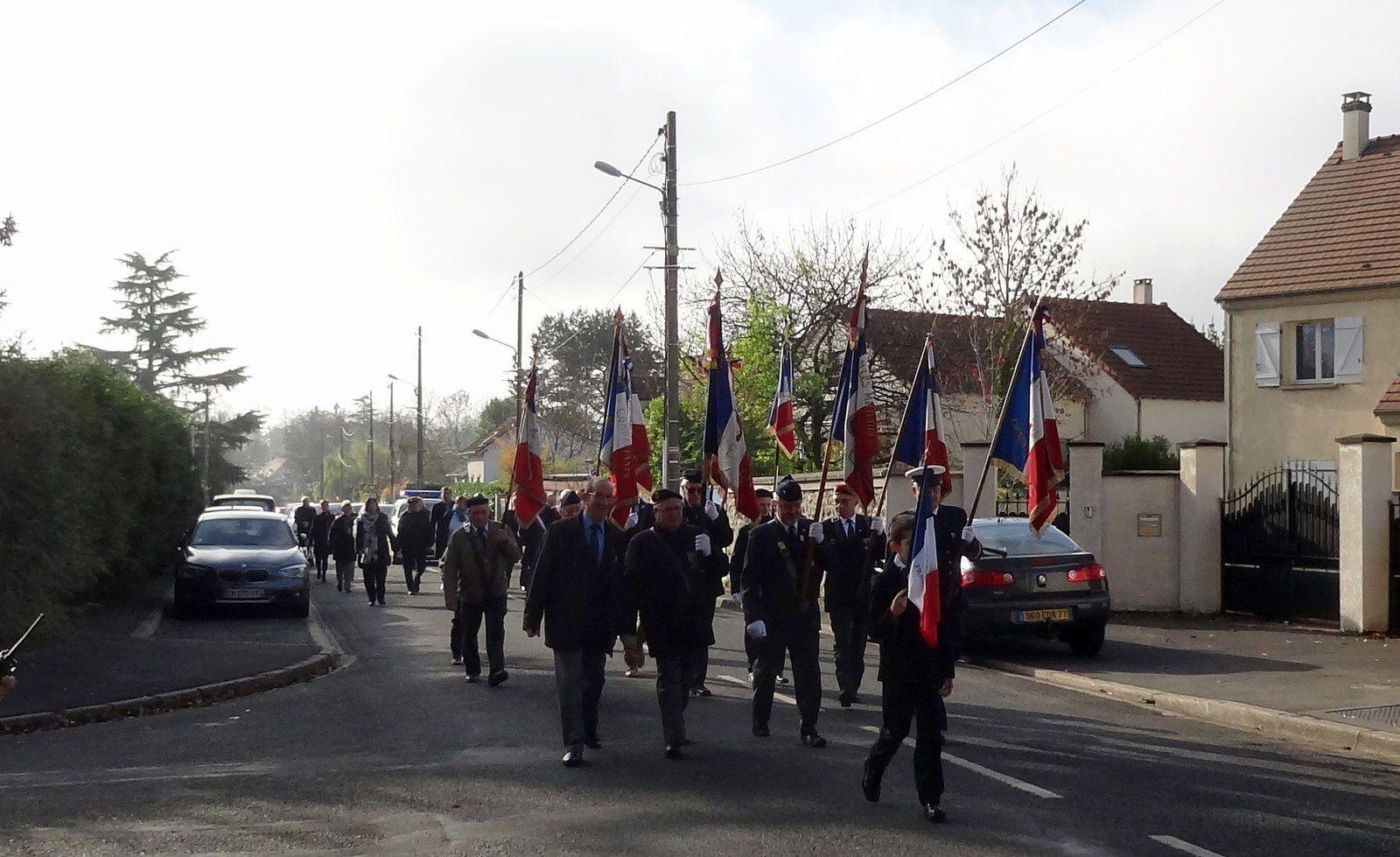 Commémoration 11 novembre au Mée sur Seine