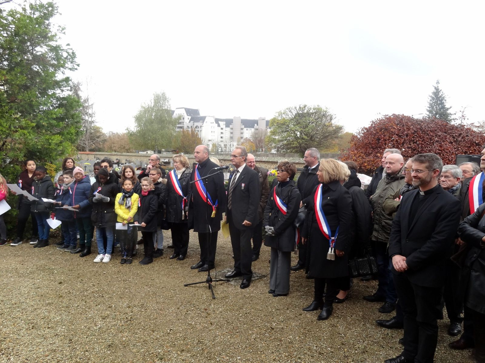 Commémoration de l'armistice du 11 novembre 1918