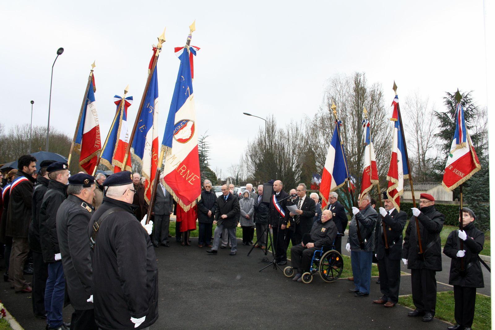 Commémoration en souvenir du cessez le feu du 19 mars 1962