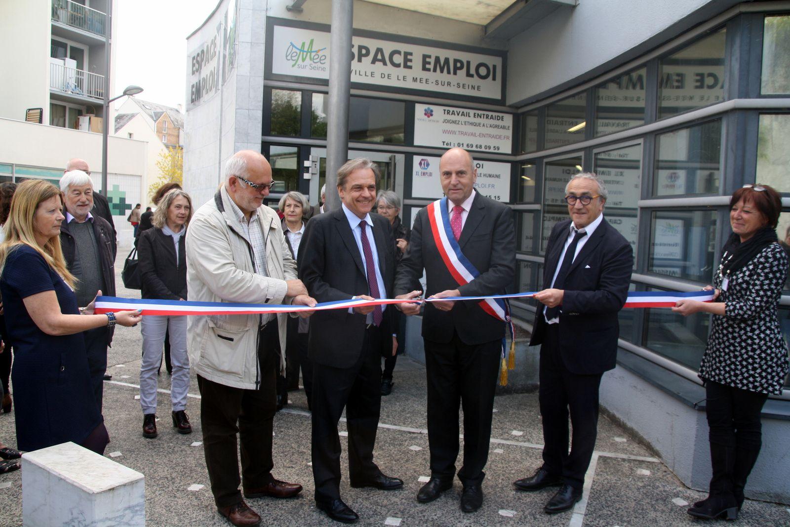 Inauguration de l'Espace Emploi