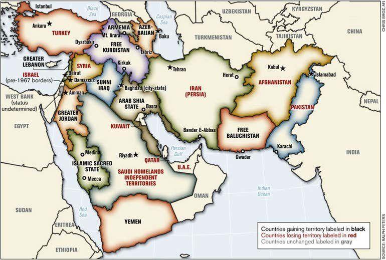 Syrie – Irak, Année zéro … ou la Pax Americana