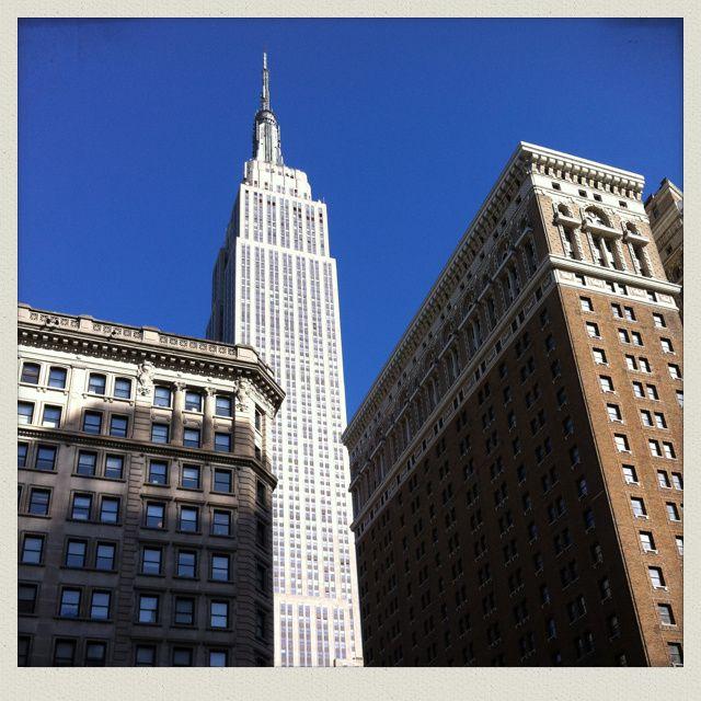 LE mythe, l'Empire State Building (voir le 1ère photo de l'article : la vue, depuis le 86e étage)