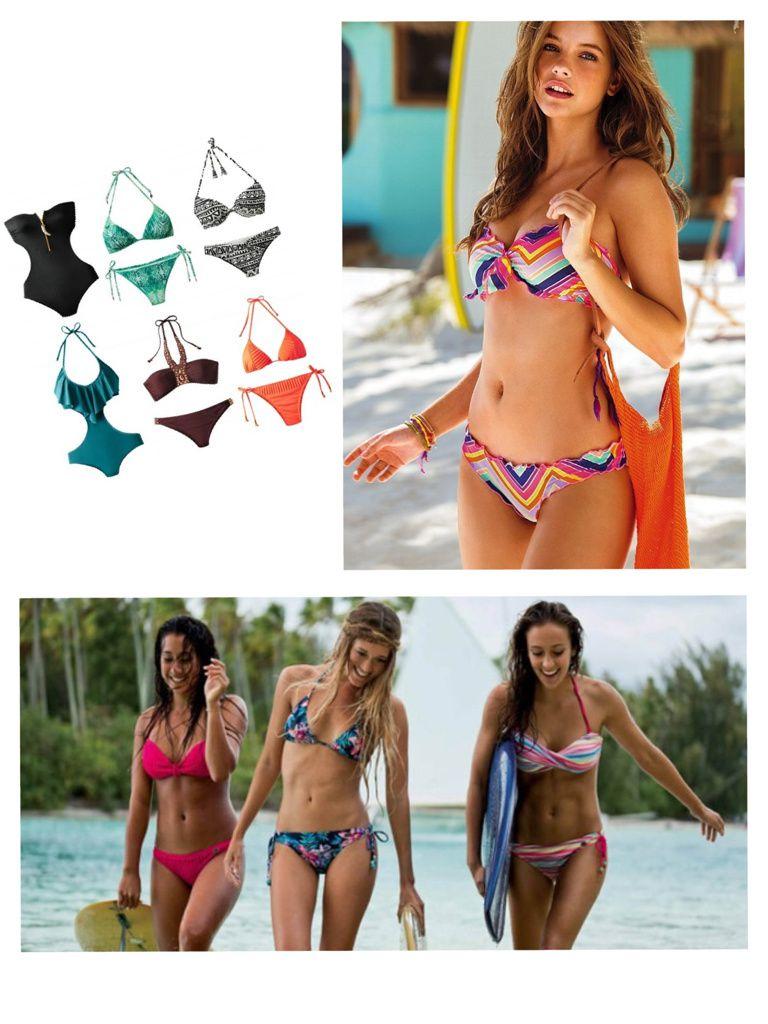 H & M, Victoria's Secret (mon préféré) et Roxy