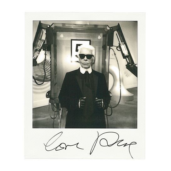 Karl Lagerfeld par Vogue Paris