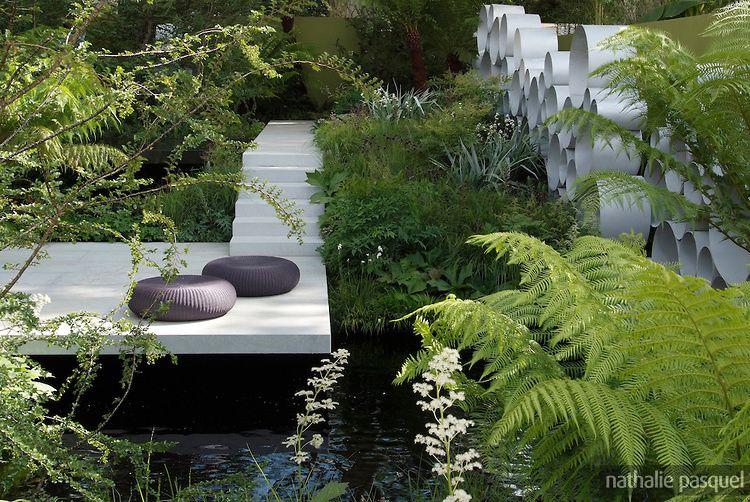 Du jardin contemporain au plus classique.