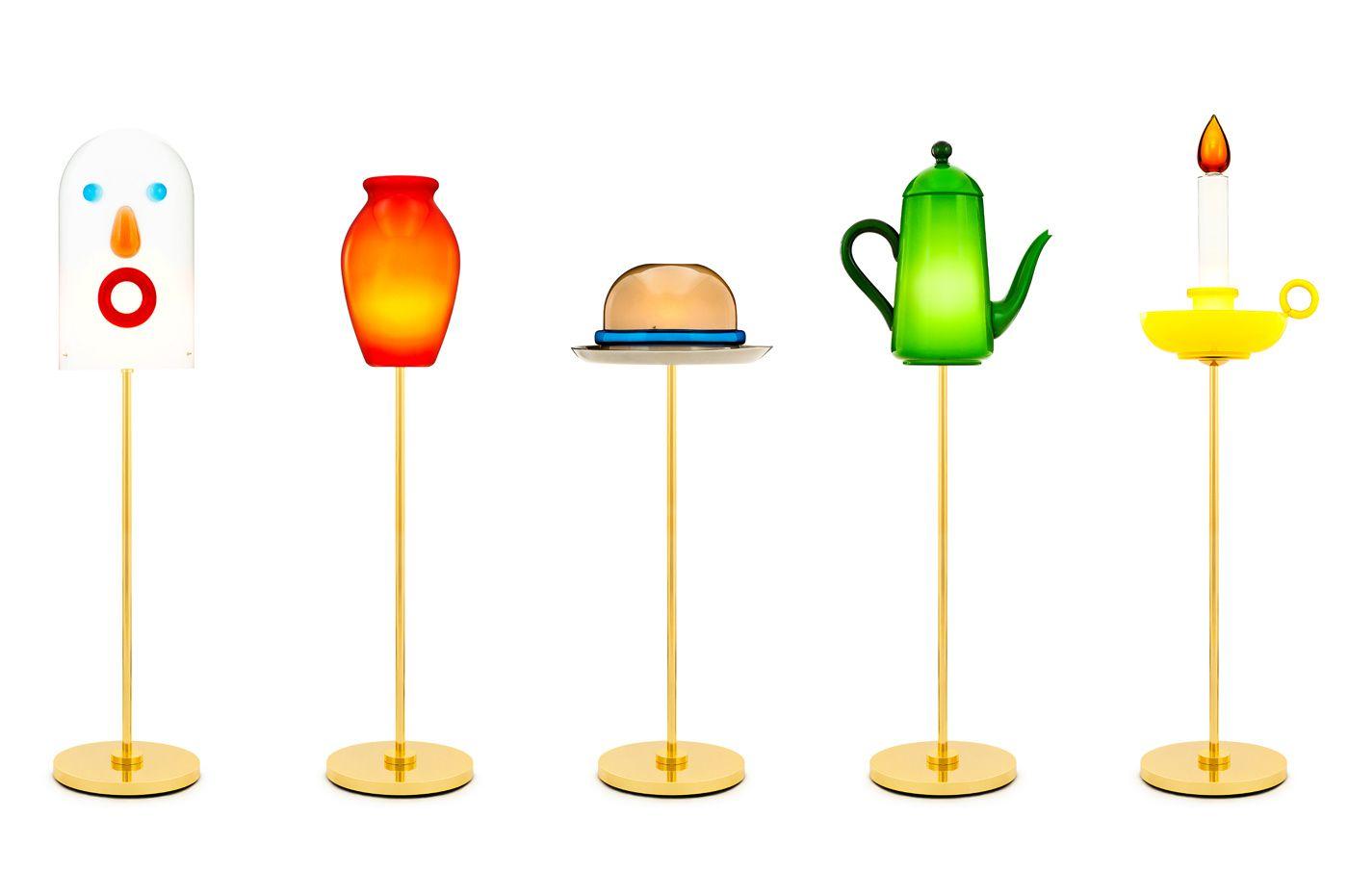 """La série très théâtrale de lampes objets créée par Studio Job, """" Mae West """", 2010."""