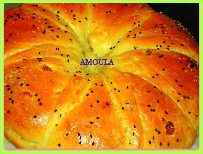 Brioche aux saveurs arabes..... بريوش بالنكهة العربية