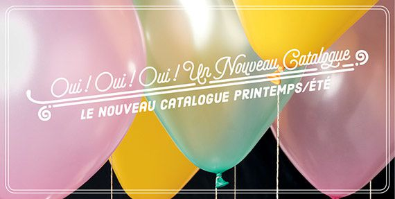 Catalogue printemps/été et sale a bration 2016