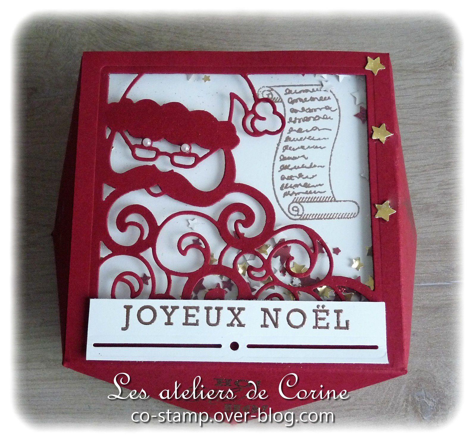 Boîte Père Noël