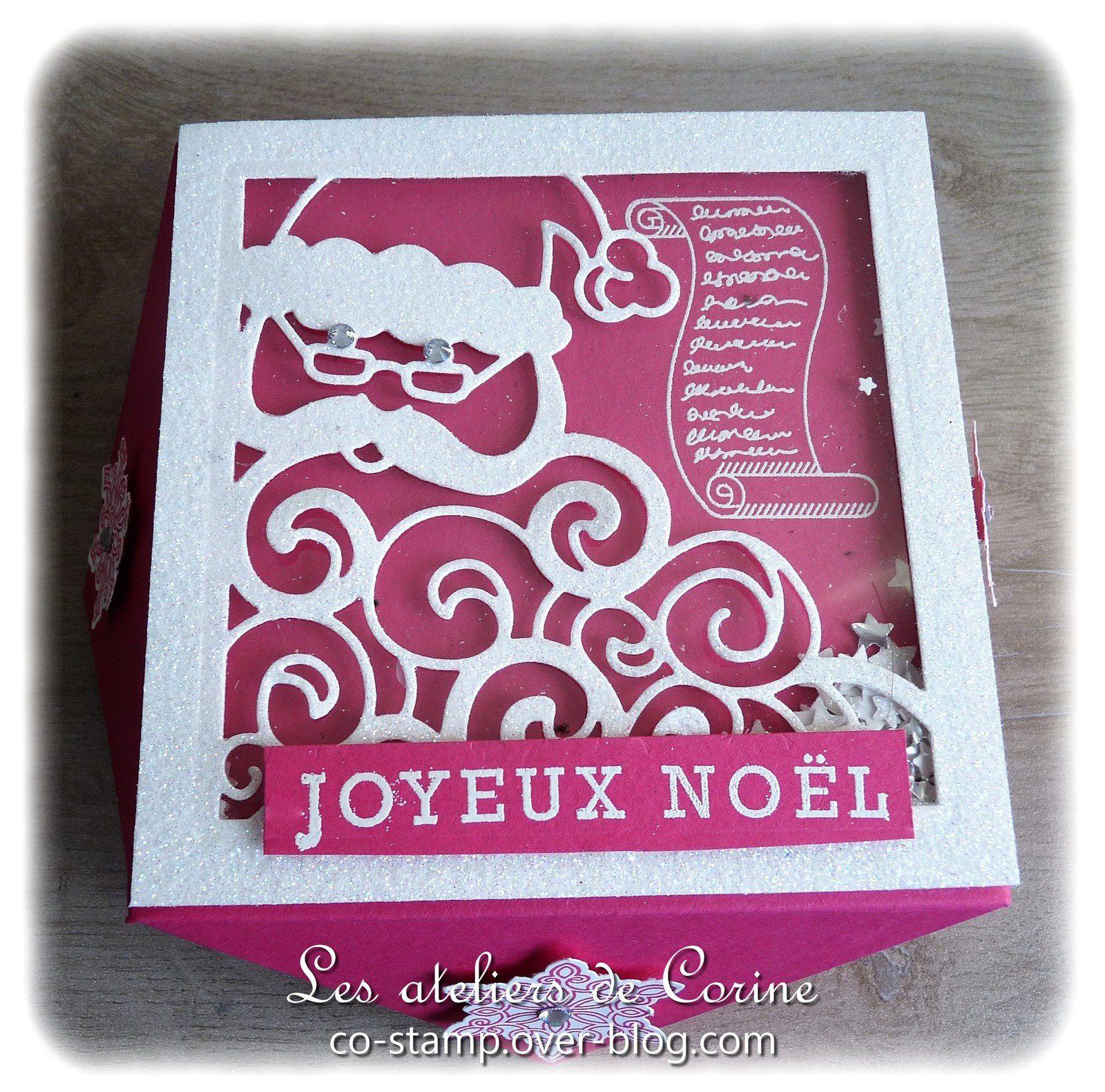 Boîte Père Noël &quot&#x3B;melon mambo&quot&#x3B;