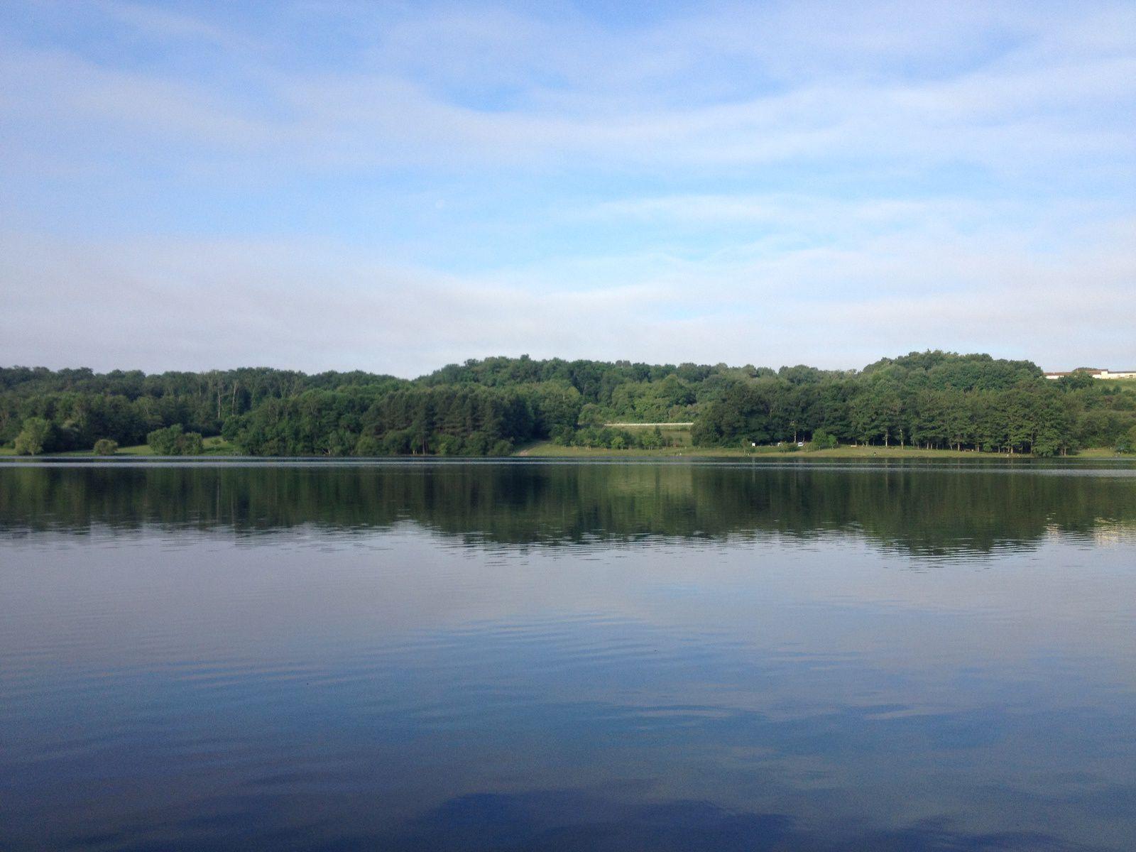 Le Lac du Brousseau à Aire sur Adour
