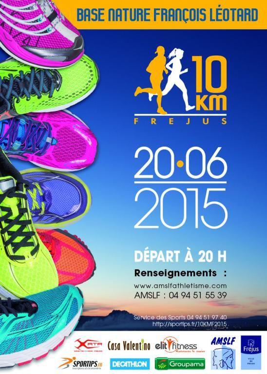 La marche nordique s'invite au 10km de Fréjus