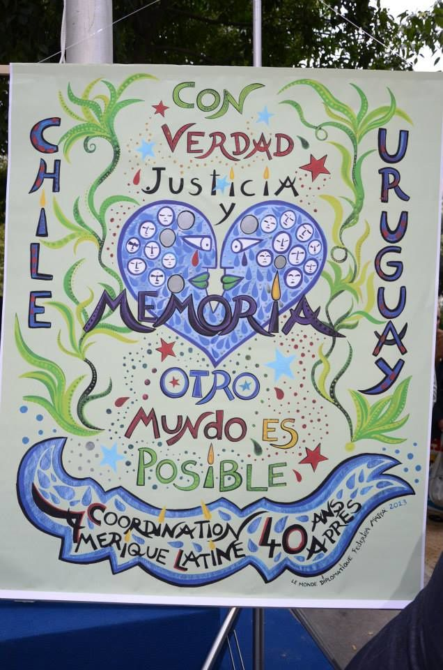 Hommage à Salvador Allende et aux victimes de la dictature, le 11 Septembre 2013 à Paris
