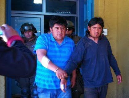 Chili, agression policière contre les Mapuches de Temucuicui