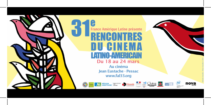 31° Rencontres du Cinéma Latino-américain du 18 au 24 mars à Pessac
