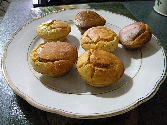 Muffins aux pépites de chocolat et noisette