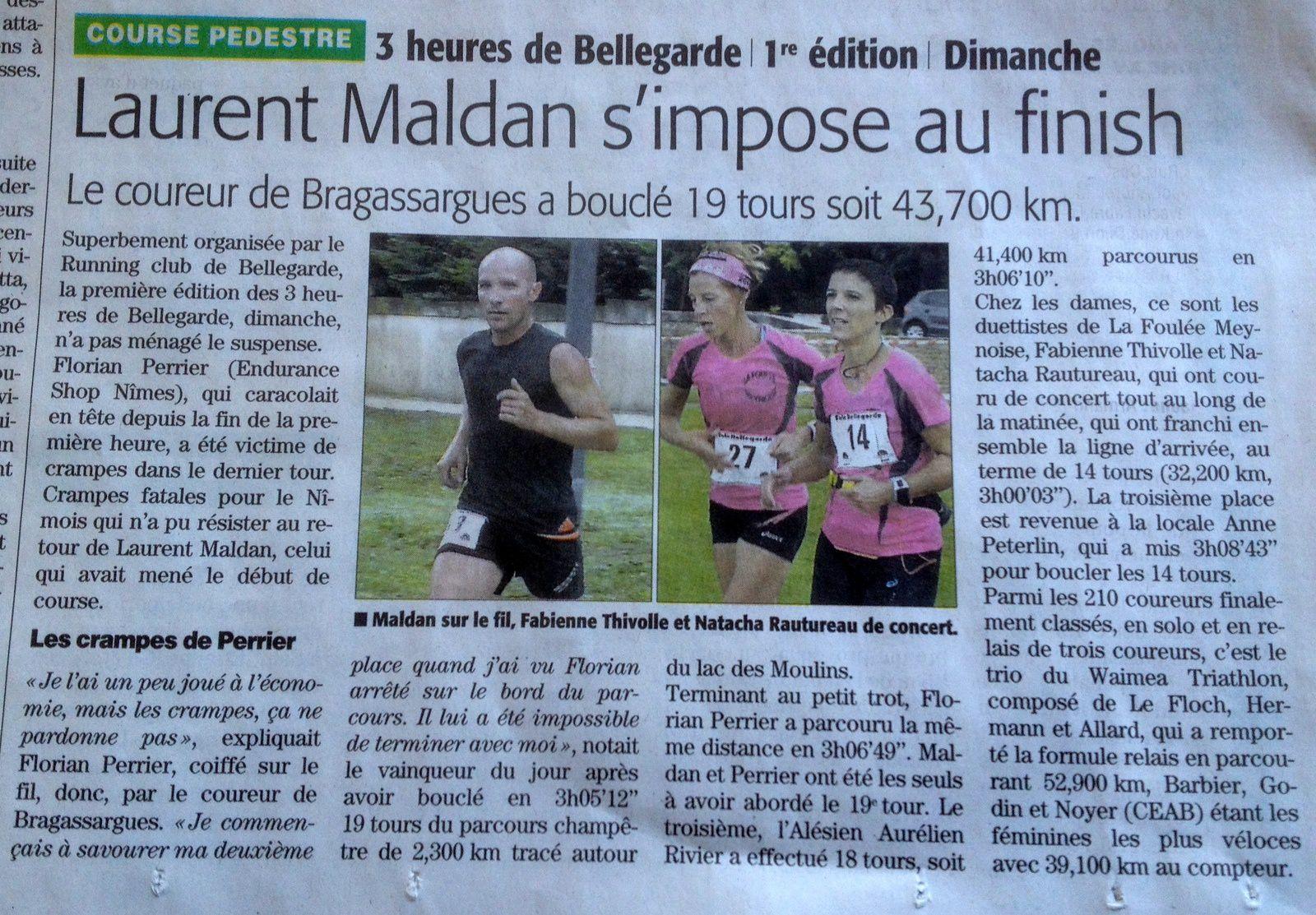 Supplément sport du Midi Libre !