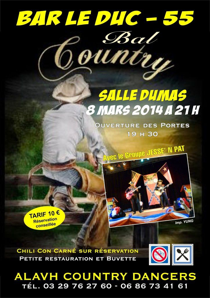 Bal country à Bar-le-Duc