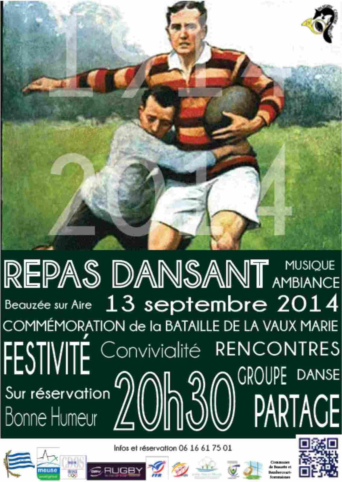 Rugby Centre Meuse Force 4 à Beauzée sur Aire