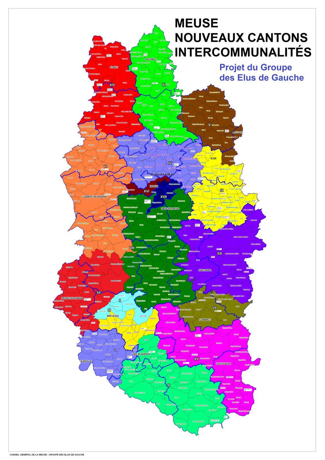 Une nouvelle carte cantonale pour corriger les inégalités démographiques