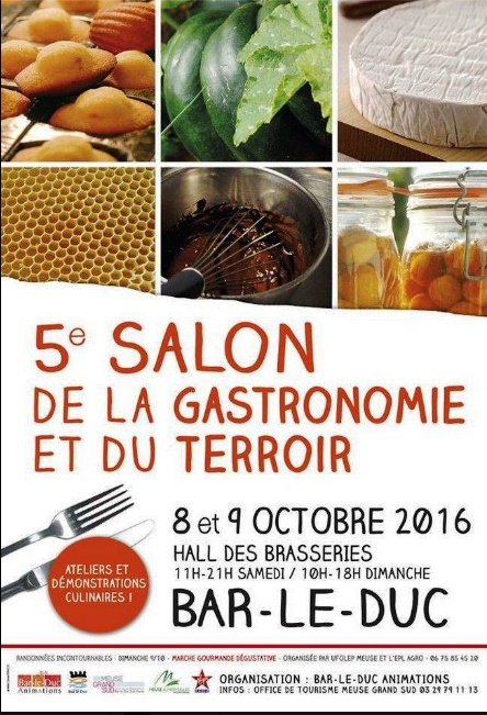 salon de la gastronomie et du terroir 2016 le blog de roland corrier. Black Bedroom Furniture Sets. Home Design Ideas