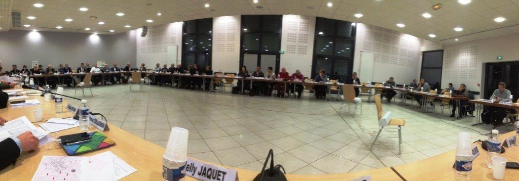 Conseil de la Communauté d'Agglomération - 1er décembre 2016