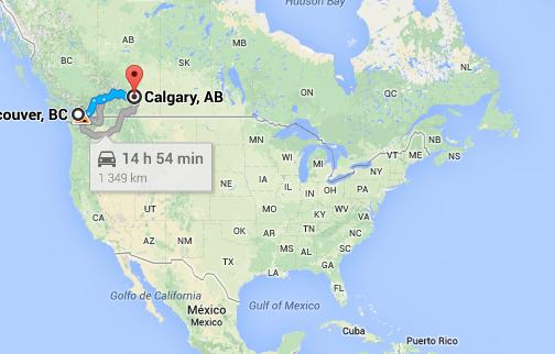 Bientôt Vancouver-Calgary