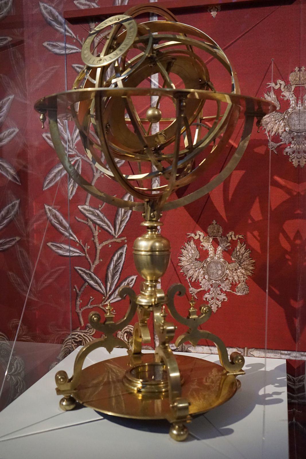 Sphère française ou astrolabe sphérique ?