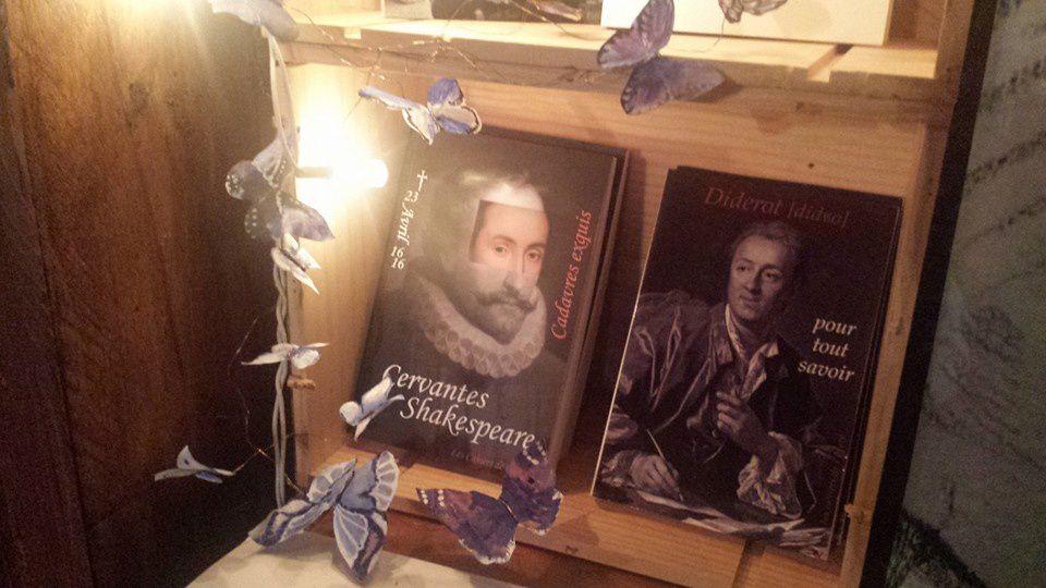 écrire, lire, exposer, s'exposer, débattre, se  rencontrer, ça ressemble à ça&#x3B; bibliothèque de La Grange, théâtre de poche à Ferrières en Bray