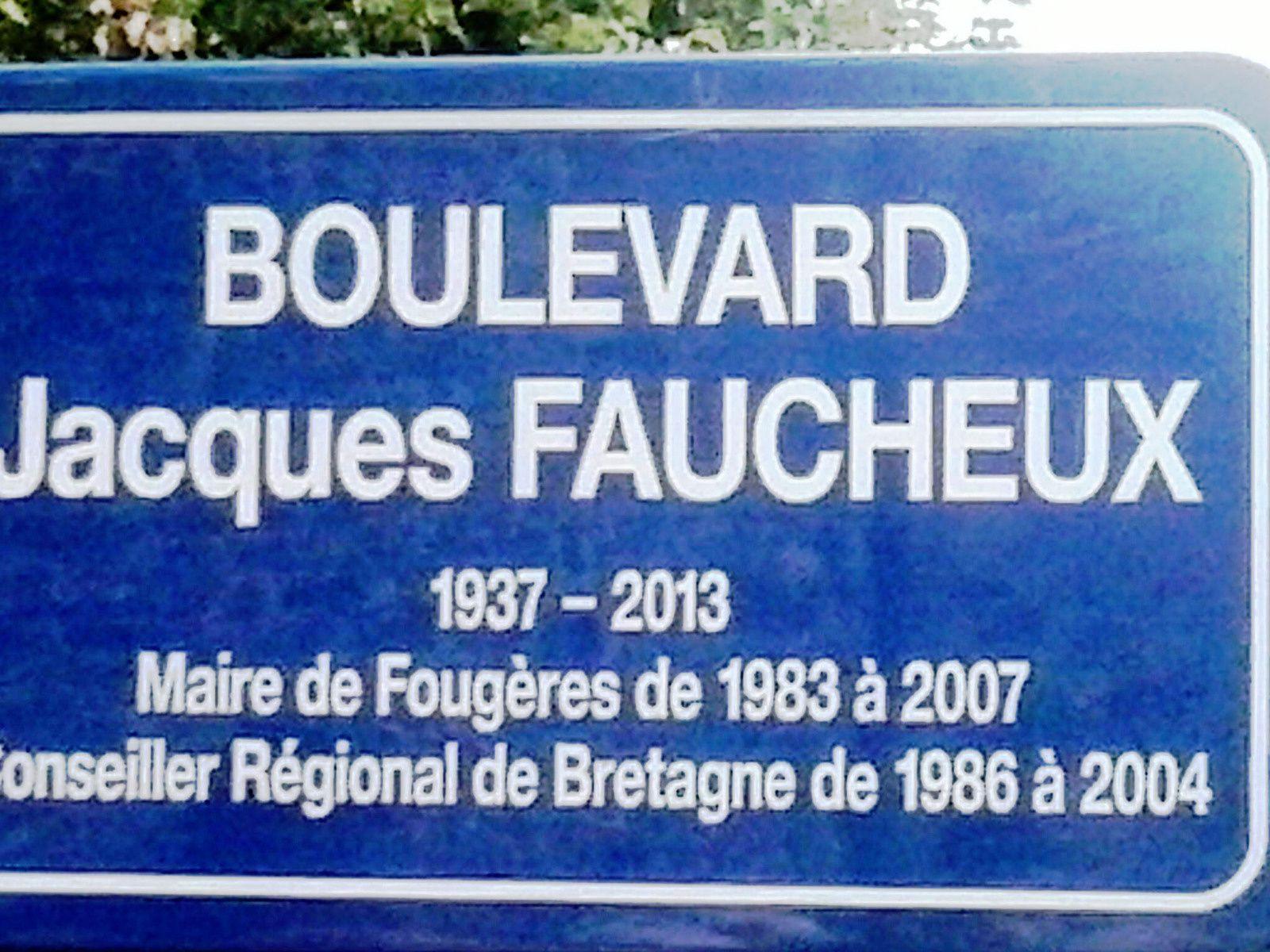 Fougères a désormais son boulevard Jacques-Faucheux