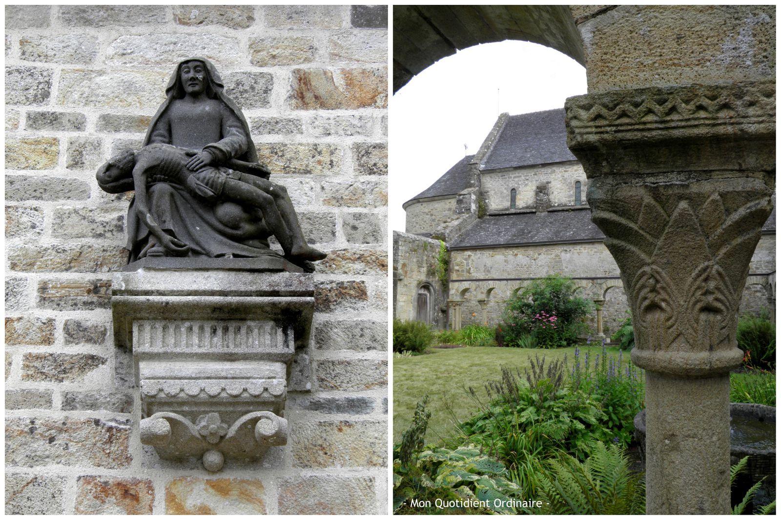 L'Abbaye de Daoulas et le jardin de plantes médicinales