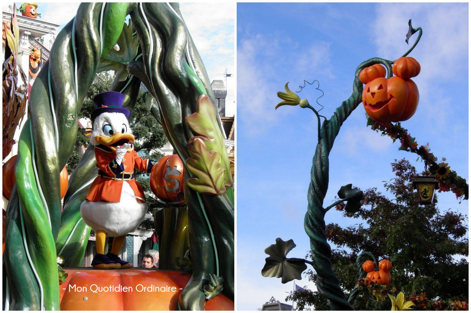 La magie de Disneyland pour Halloween