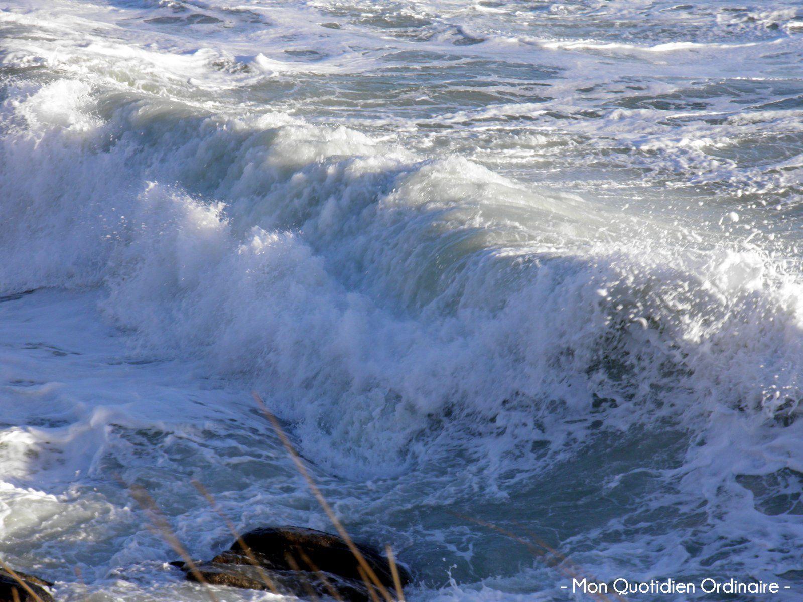 Le spectacle des grandes marées