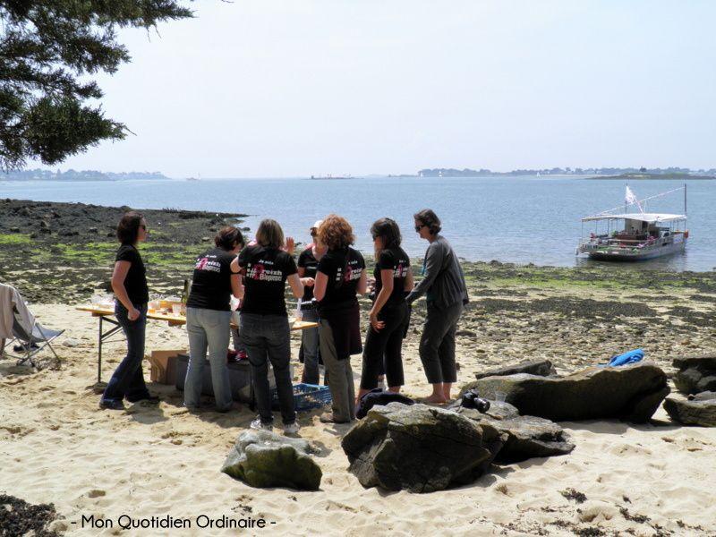 Expériences bretonnes dans le Golfe du Morbihan