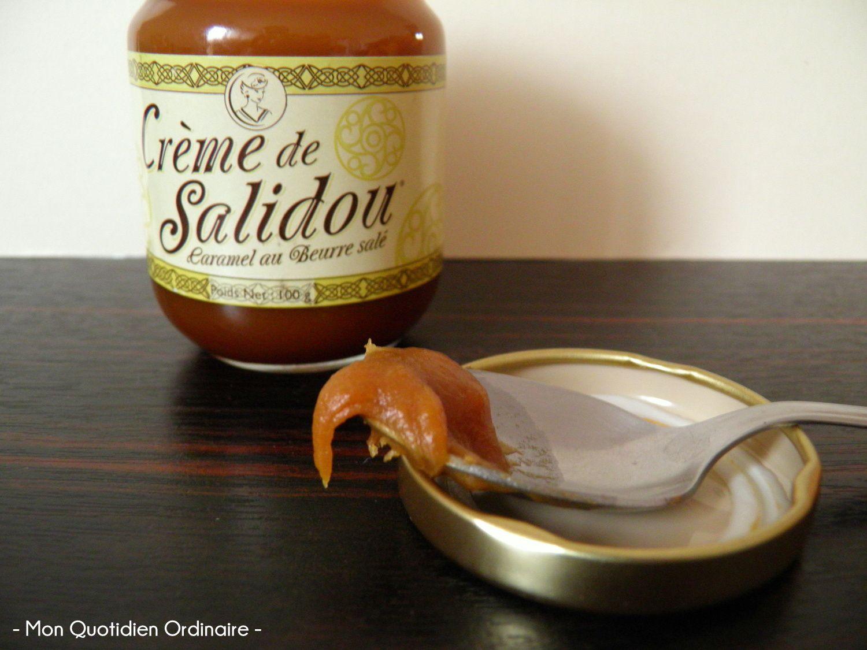 Crumble minute: Pommes et crème de Salidou