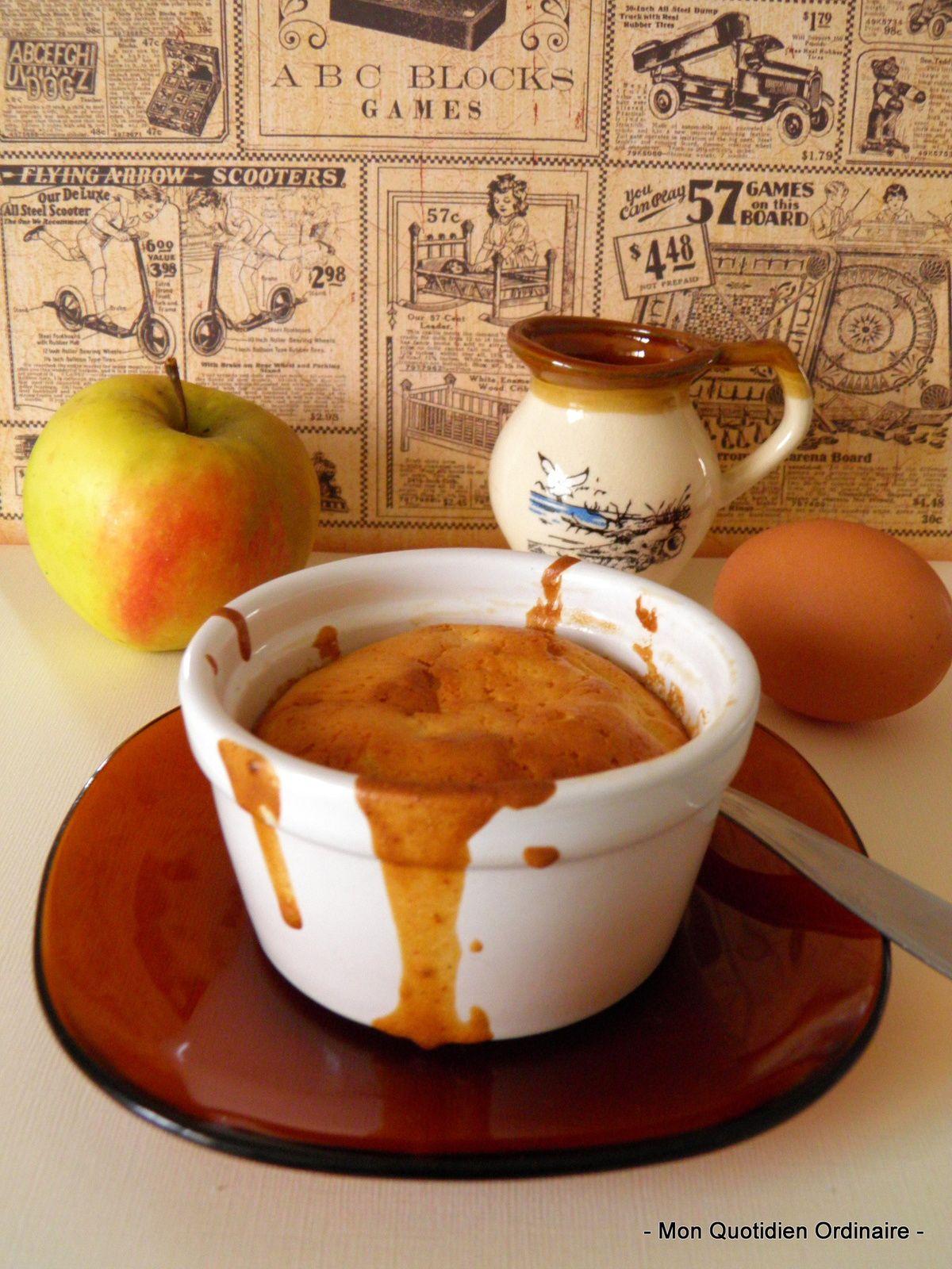 Gâteau aux pommes et à la &quot&#x3B;peau de lait&quot&#x3B;
