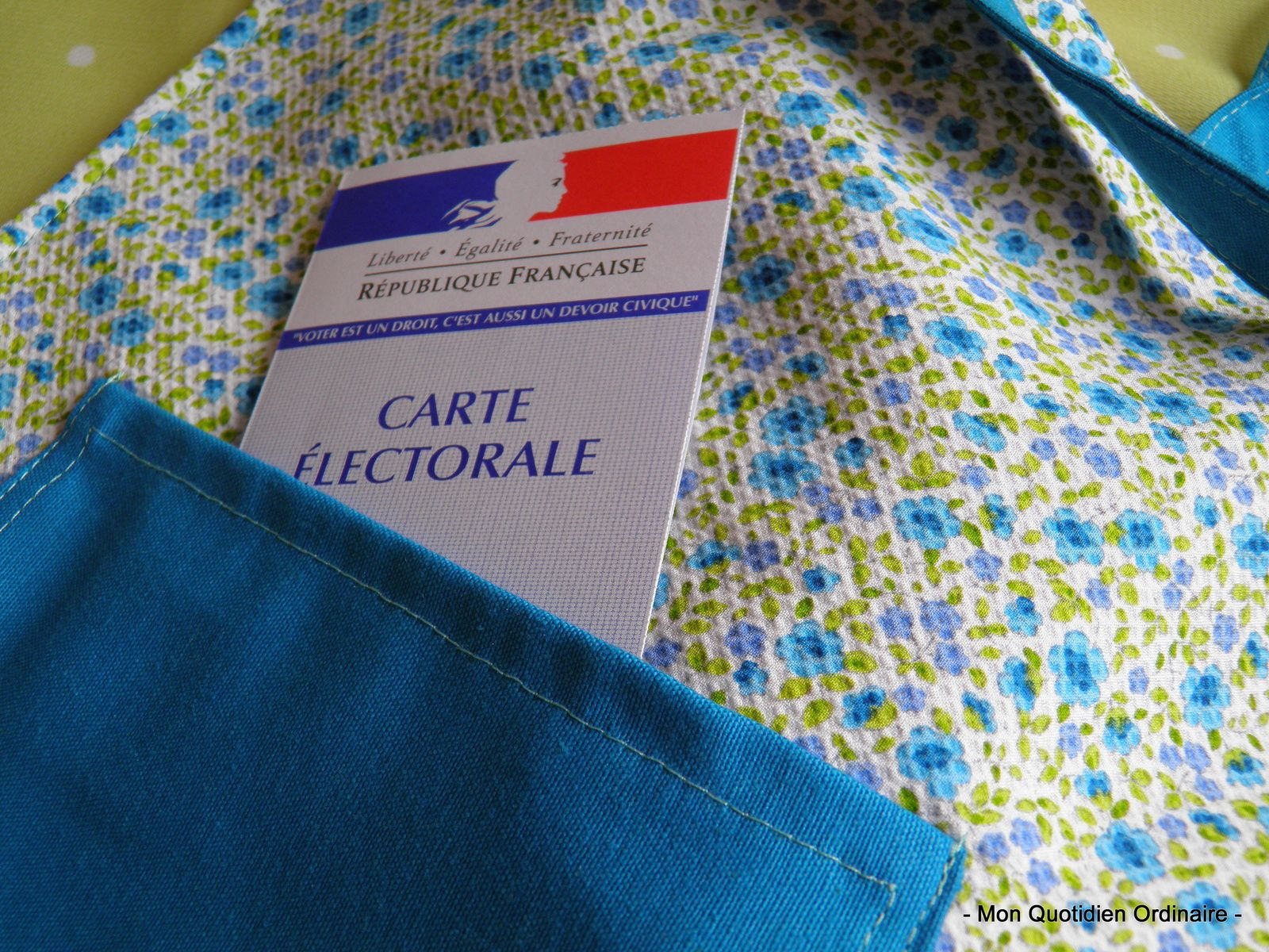 "Mon ""Tote Bag"" du Printemps"