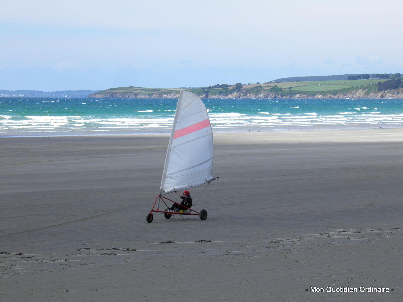 Expérience bretonne: Le char à voile