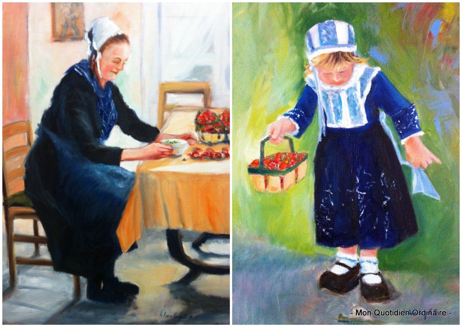 Peintures par Agnès Le Roux Le Gall